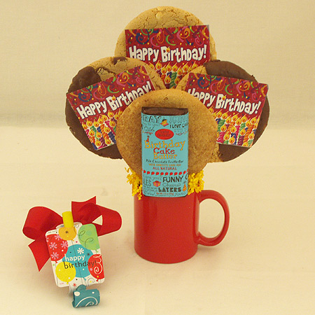 #90 Happy Birthday Cookie Mug