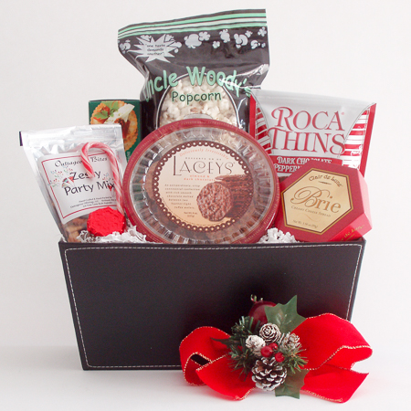 Holiday #F Medium Holiday Crowd Pleaser Gift Basket at $51.95