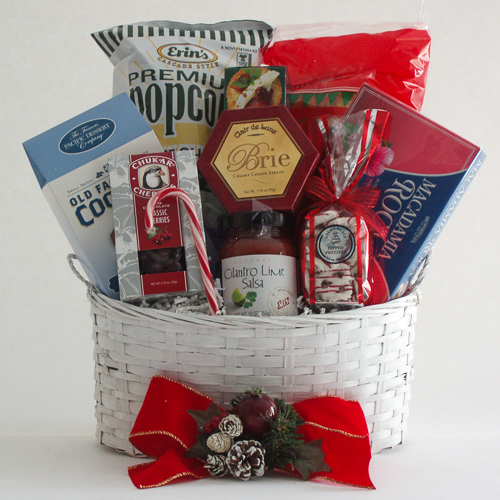 G. Medium Holiday Crowd Pleaser Gift Basket