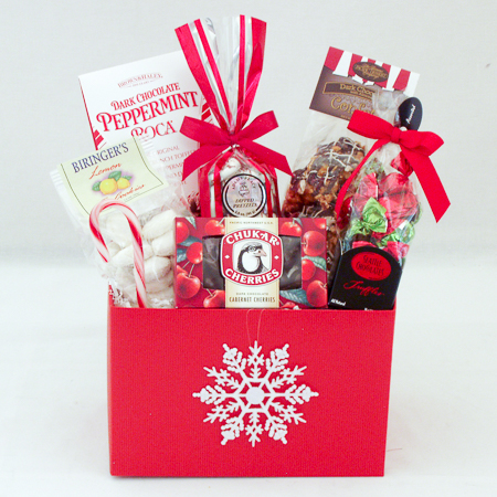 Holiday #K Holiday Sweet Treats Gift Basket