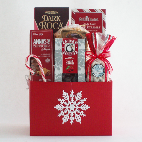 L. Holiday Sweet Treats Gift Basket
