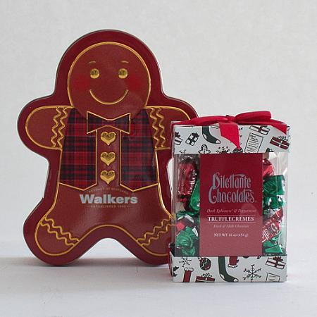 O. Gingerbread Cookies & Dilettante Holiday Chocolates