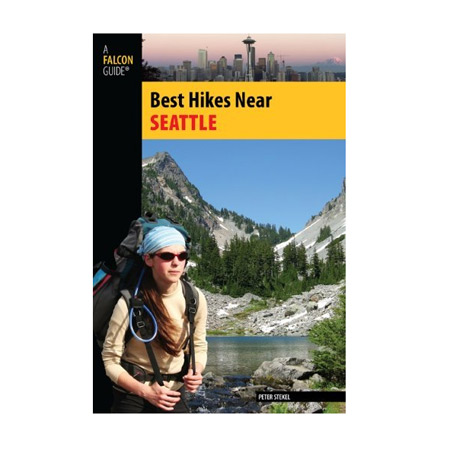 "Add the book ""Best Hikes Near Seattle"" to any basket"