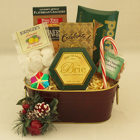 Holiday #M Northwest Sampler Holiday Gift Basket