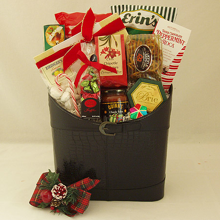 Holiday #P Large Holiday Crowd Pleaser Gift Basket at $99.95