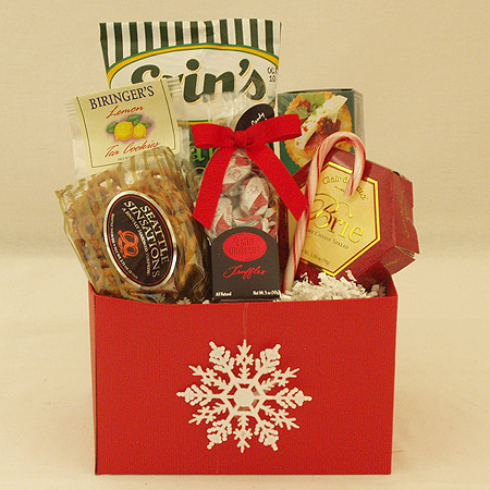 Holiday #T Small Holiday Crowd Pleaser Gift Basket at $34.95